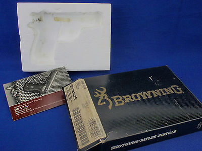 Browning BDA-380 Factory Carboard Pistol Handgun Case / Box * Hard to Find *