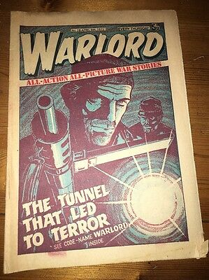 Warlord Comic #28 April 5th 1975 Very Good Condition