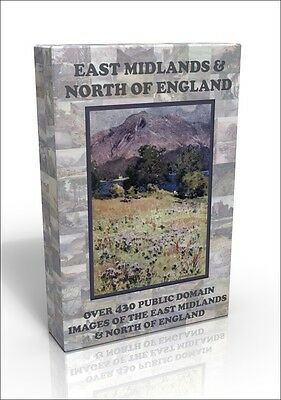 East Midlands & North of England - over 430 public domain pictures on DVD