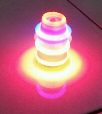 Spinning top 2 pcs new toy lights with music