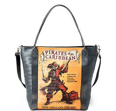 NEW Disney Harvey's PIRATES OF CARIBBEAN Attraction Seatbelt Tote Bag