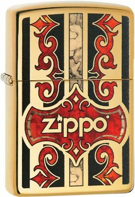 Zippo Windproof Fusion Design Lighter With Zippo Logo, 29510, New In Box
