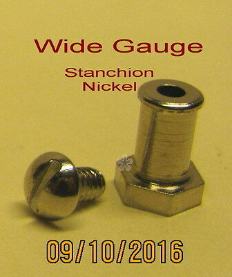 American Flyer Wide Gauge Trim – Stanchion (Nickel) (NEW)