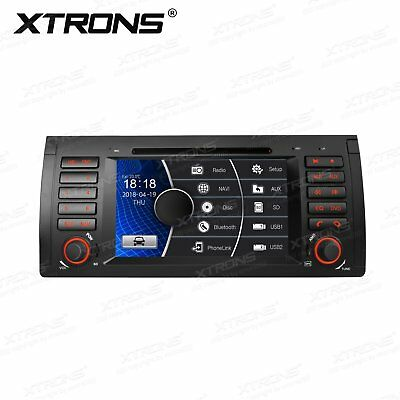 "Auto Radio GPS Navigation 7"" Car CD DVD Player Stereo 1 DIN BT for BMW X5 E53"