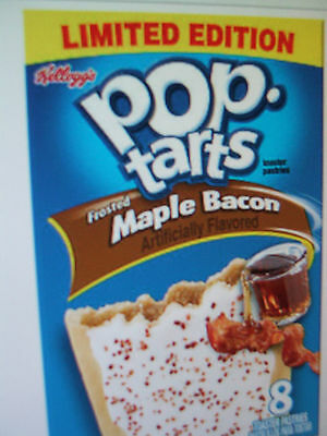 Kellogg's Limited Edition Frosted Maple Bacon Pop Tarts exp. 11/12/16 or later