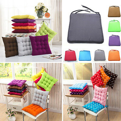 Square Cotton Seat Soft Cushion Buttocks Chair Cushion Pads Home Office Outdoor