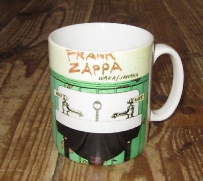 Frank Zappa Waka Jawaka Hot Rats Advertising MUG