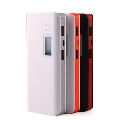 50000mAh Dual USB Power Bank LCD LED Mobile Phone External Battery Charger