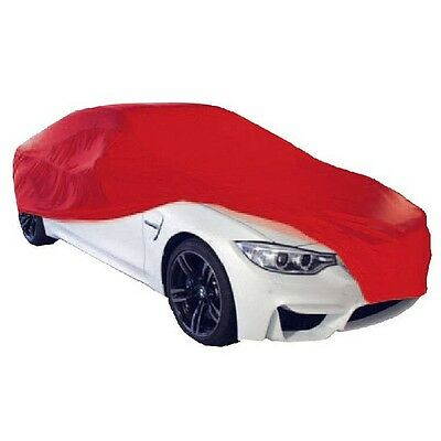 Cosmos Indoor Car Garage Cover MEDIUM Red Supersoft Breathable Dustproof Fabric
