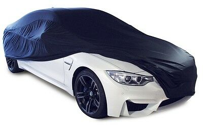 Cosmos Indoor Car Garage Cover LARGE Black Supersoft Breathable Dustproof Fabric