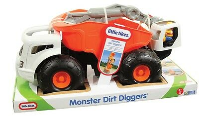 NEW Little Tikes Monster Dirt Diggers Red from Mr Toys Toyworld