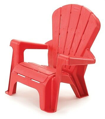 NEW Little Tikes Garden Chair Red from Mr Toys Toyworld