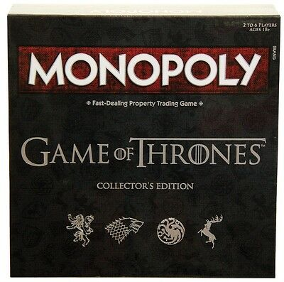 NEW Monopoly Game Of Thrones from Mr Toys