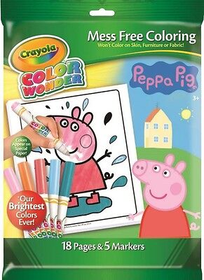 NEW Crayola Color Wonder Peppa Pig from Mr Toys