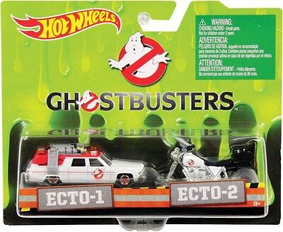 NEW Ghostbusters ECTO-1 And ECTO-2  Vehicle from Mr Toys