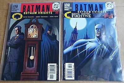 DC COMICS LOT OF 2 x NEW/UNREAD HIGH GRADE BATMAN GOTHAM KNIGHTS COMICS; #31, 32