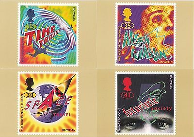GB - Mint PHQ Cards - 1995 - Science Fiction