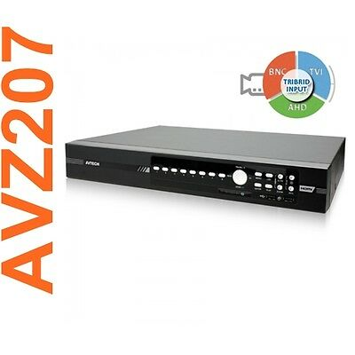 Dvr Avtech Avz207 8 Canali H.264 Push Video Cloud Hd Tvi Ahd Analogico