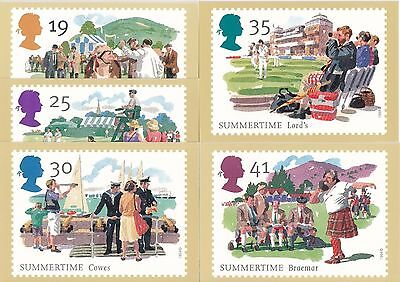 GB - Mint PHQ Cards - 1994 - Summertime
