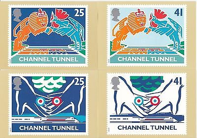 GB - Mint PHQ Cards - 1994 - Channel Tunnel
