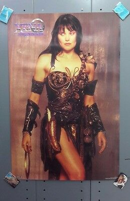 1996 XENA Warrior Princess TV Series Poster- Unused- Rolled (SVPO-106)
