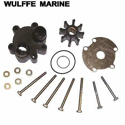 Raw Water Pump Impeller Kit with Housing for Bravo I/O TRS 46-807151A14 18-3150