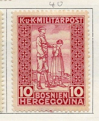 Bosnia Herzegovina 1916 Early Issue Fine Mint Hinged 10h. 089448