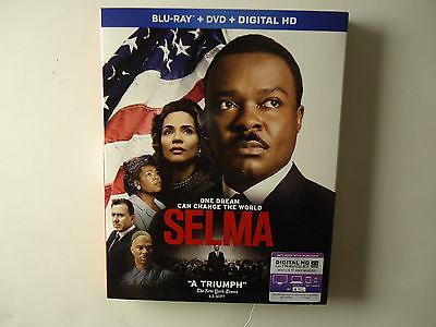 Selma (Blu-ray/DVD, Digital HD, 2015) NEW w/slipcover