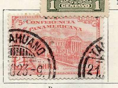 Chile 1923 Early Issue Fine Used 2c. 089775