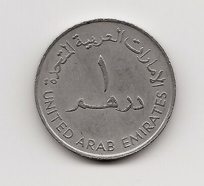 World Coins - United Arab Emirates 1 Dirham 1987 Coin KM# 6.1 Lot-U4