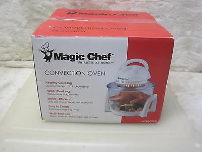Magic Chef  CONVECTION OVEN Counter Top Healthy Cooking Kitchen MCSGC07W ~ NEW