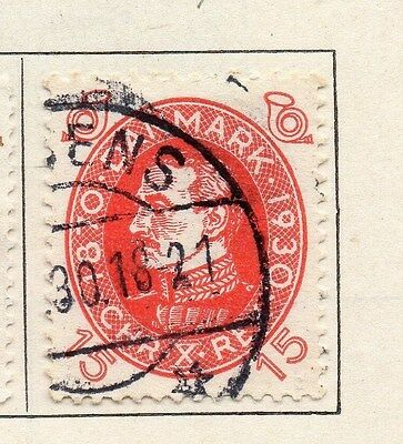 Denmark 1930 Early Issue Fine Used 15ore. 089849