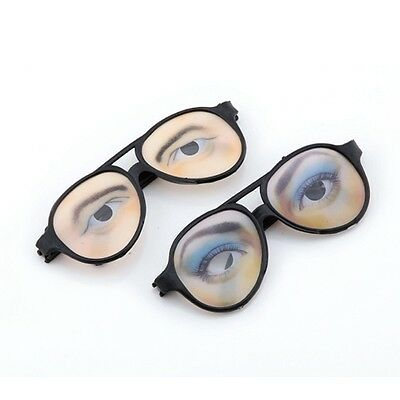 Funny Halloween Fancy Costume Eyes Disguise Joke Glasses Trick Party Gift Toy
