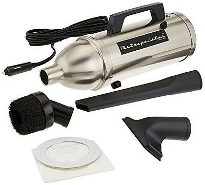 MetroVac Metro Vacuum AM-4BS Professional Stainless 12V Automotive Hand Car Vac