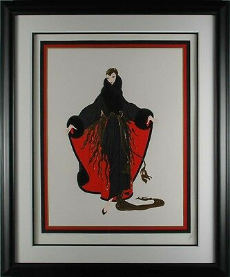 Erté - Faubourg St. Honoré (Paris Days and Nights), serigraph, Framed