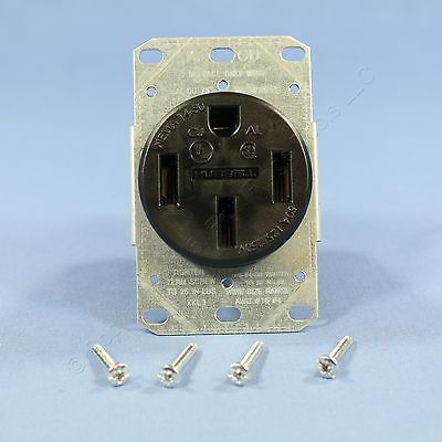 New Hubbell Range Outlet Receptacle Stove Oven 50A 125/250V NEMA 14-50R BRR450F