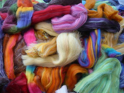 Heidifeathers Posh Wool off Cuts / Scrap Felting Wool