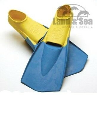 LAND & SEA  THRUSTER RUBBER FIN Flippers SQUAD TRAINING POOL