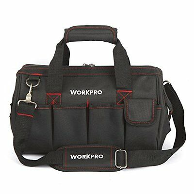 """WORKPRO W081021A Close Top Wide Mouth Storage Bag, 14"""""""
