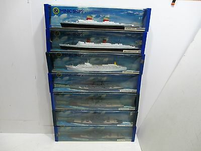 Minic Ships Collection All Mint In Box---7 Ship Collection All New In Box