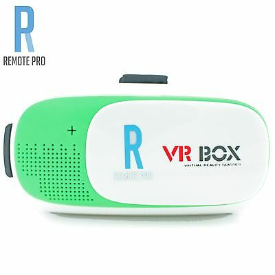 VRBOX Google Cardboard V2.0 VR Box Headset Lens Virtual Reality Glasses Green