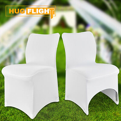 Spandex Lycra Chair Cover Arched / Flat Front Covers Wedding Party Decor