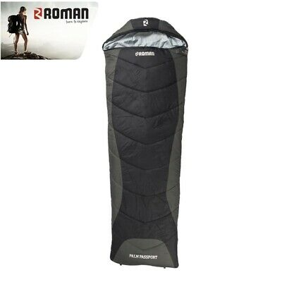 Roman Sleeping Bag Palm Series Passport -5c Black / Charcoal SCHP6-12