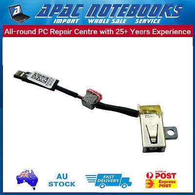 DC Power Input Jack with Cable For Dell XPS 13 9343