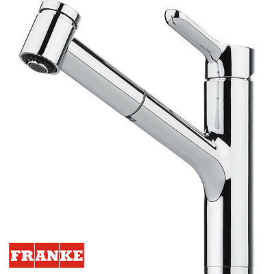 Franke MEOS PULL-OUT SPRAY Chrome Kitchen Tap Single Lever Brand Brand New !!!
