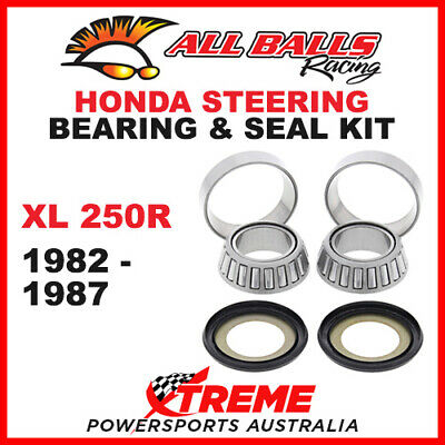 22-1021 Honda XL250R XL 250R 1982-1987 Steering Head Stem Bearing & Seal Kit
