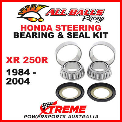 22-1021 Honda XR250R XR 250R 1984-2004 Steering Head Stem Bearing & Seal Kit