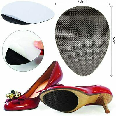 5 Pairs Self-Adhesive Anti-Slip Stick Shoe Grip Pads Rubber Sole Protectors