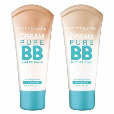 Maybelline Dream Pure 8-In-1 BB Cream - Choose Your Shade