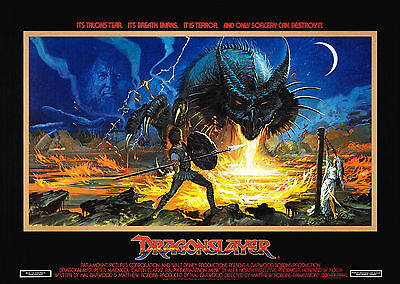 Dragonslayer (1981) - A1/A2 POSTER **BUY ANY 2 AND GET 1 FREE OFFER**